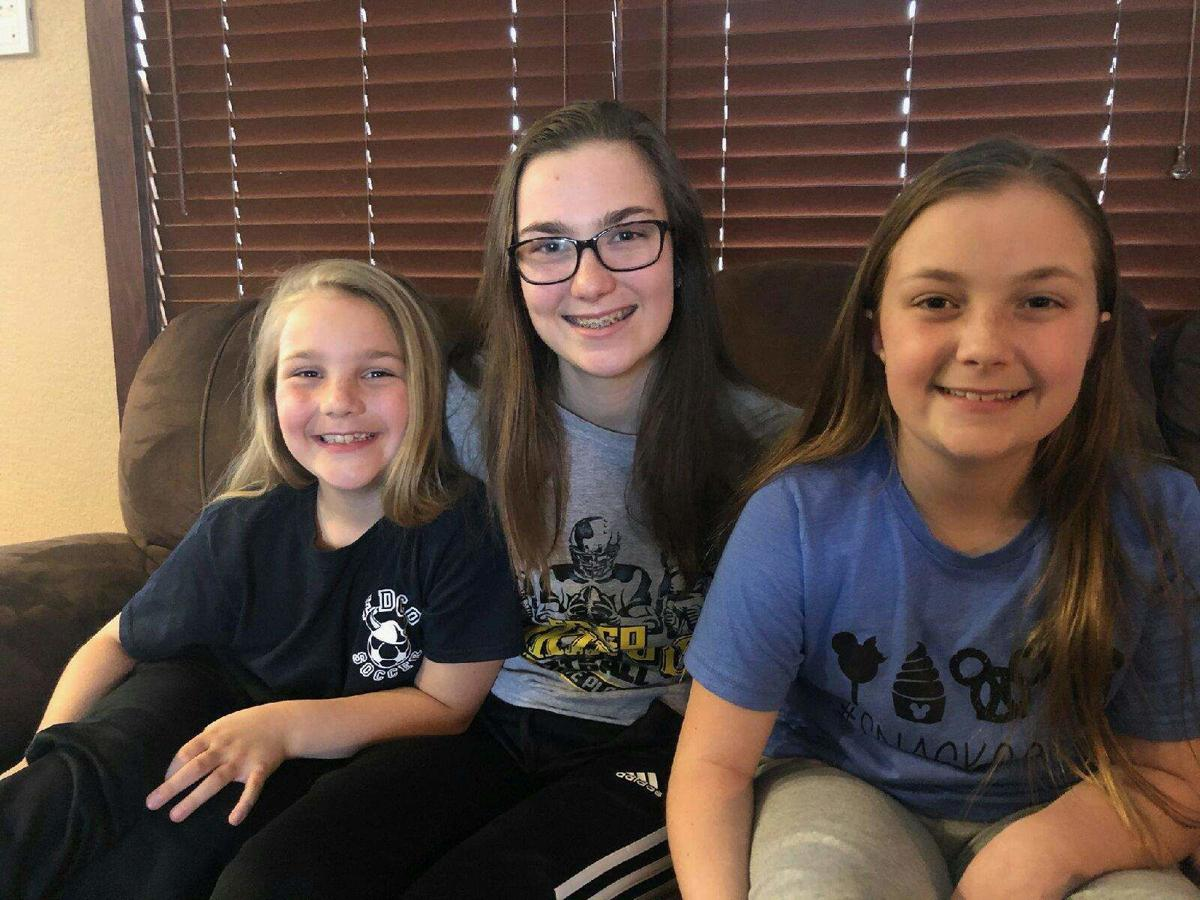 Sisters create fun videos during school shutdown