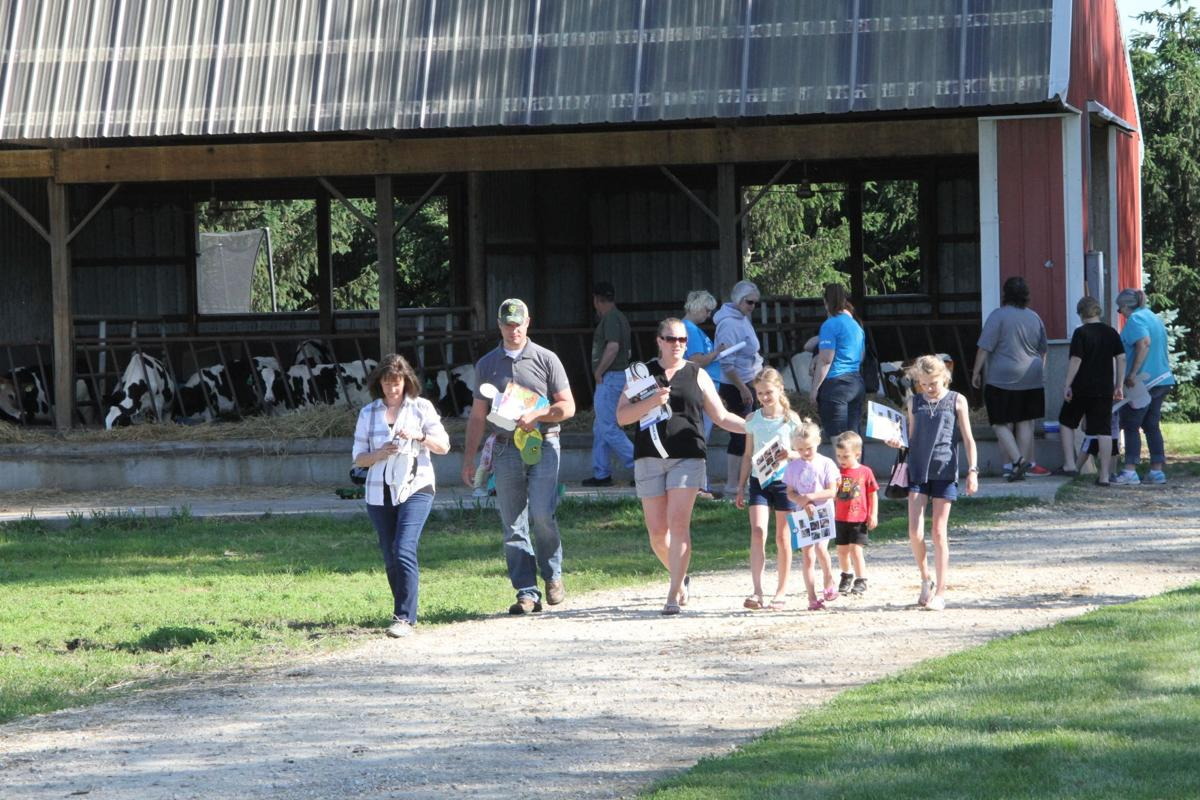 Breakfast on the farm showcases dairy operation