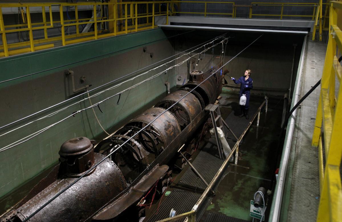 Duke grad student researches how Confederate sub crew died