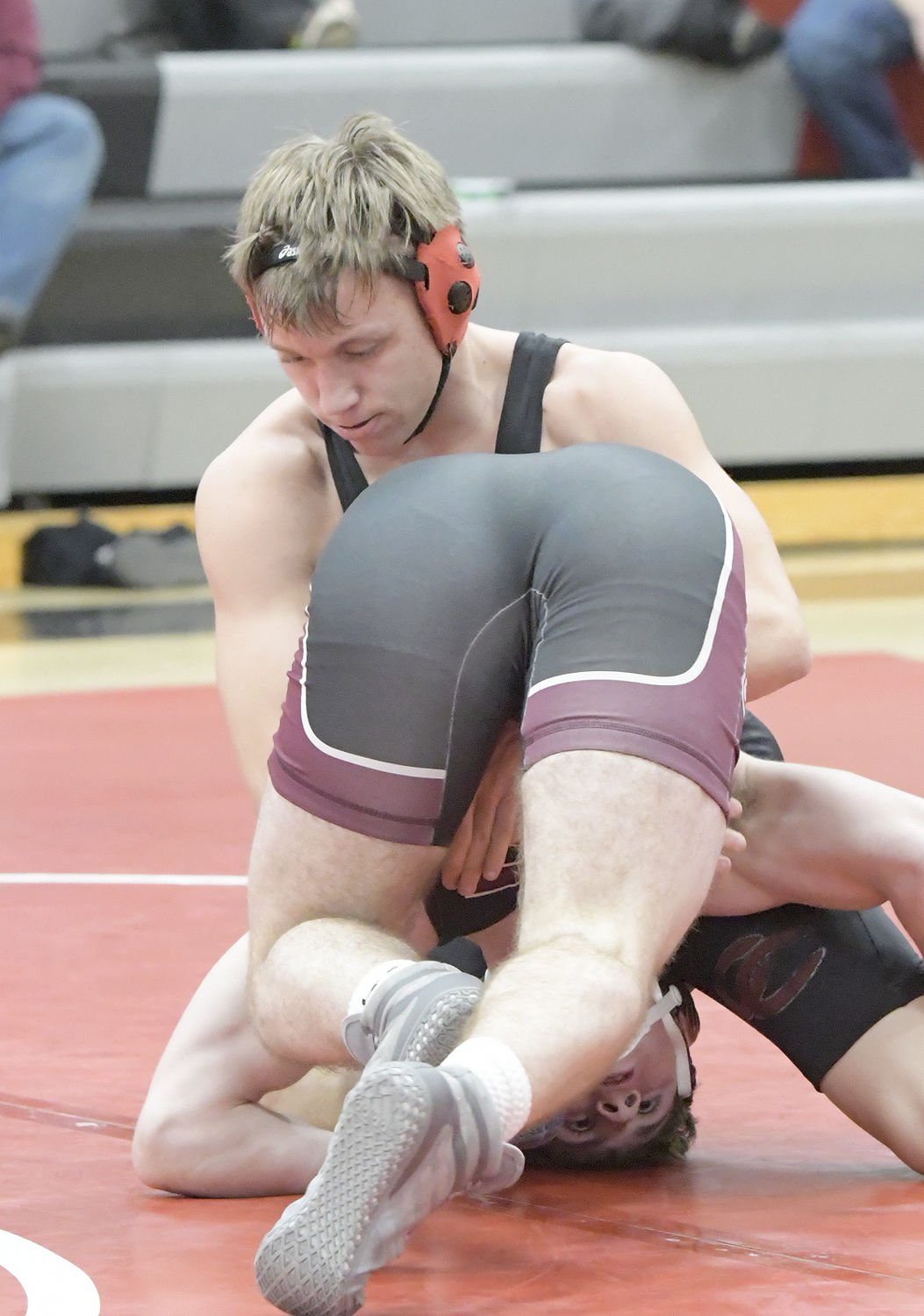 CCCHS earns split in home wrestling meet