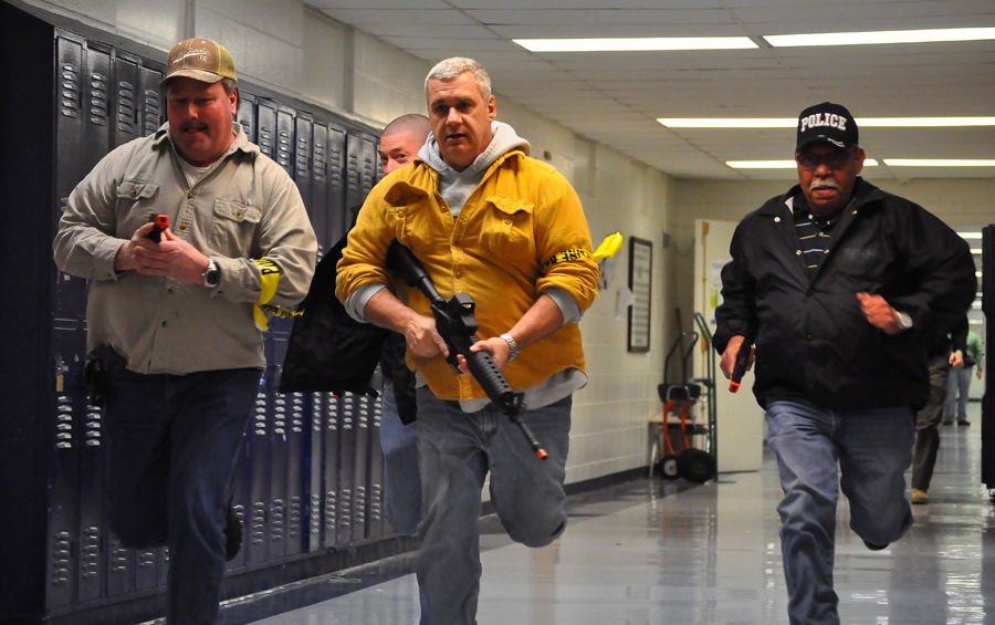 Preparing for the worst case: Manchester officers train for active shooter