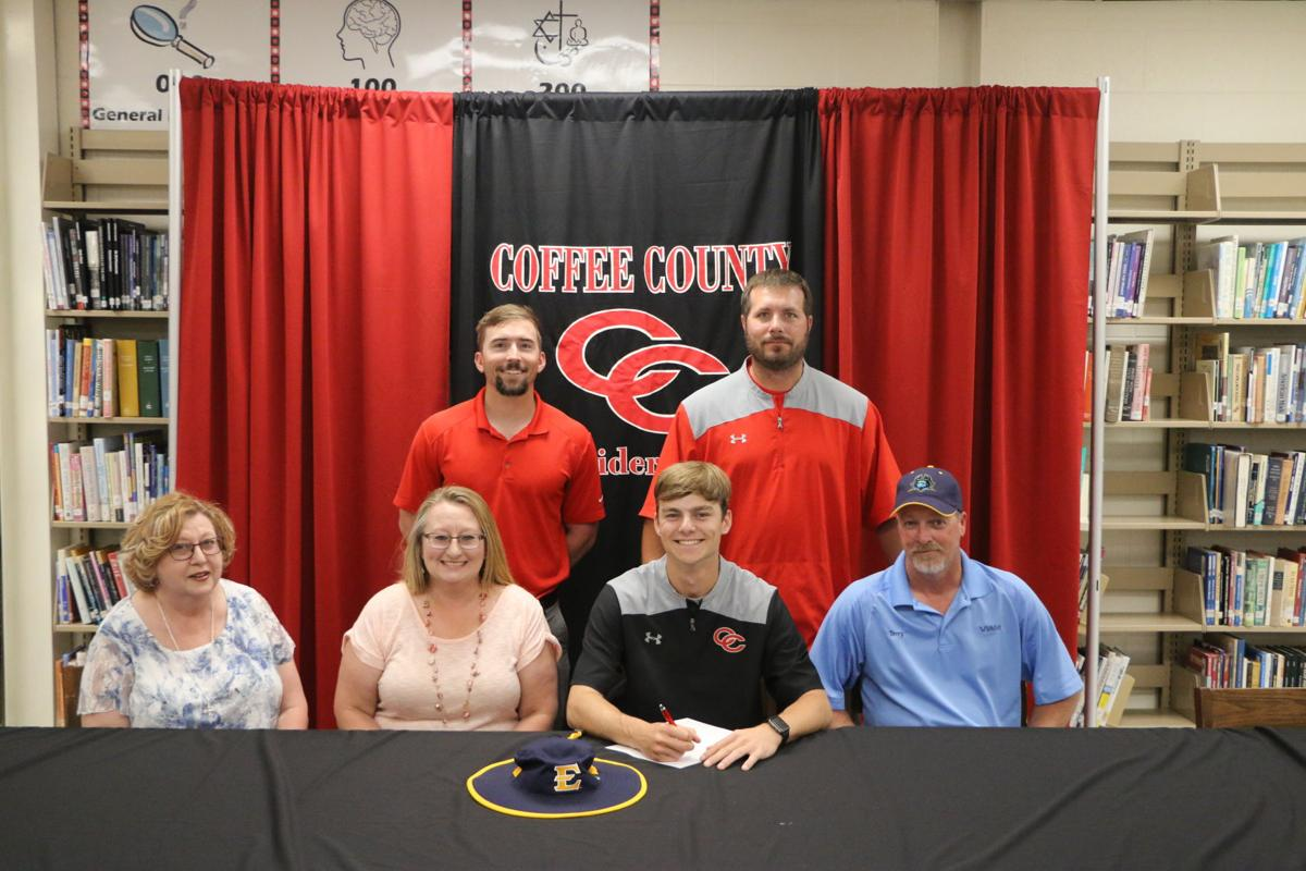 Nathanial Tate inks baseball scholarship with East Tennessee State
