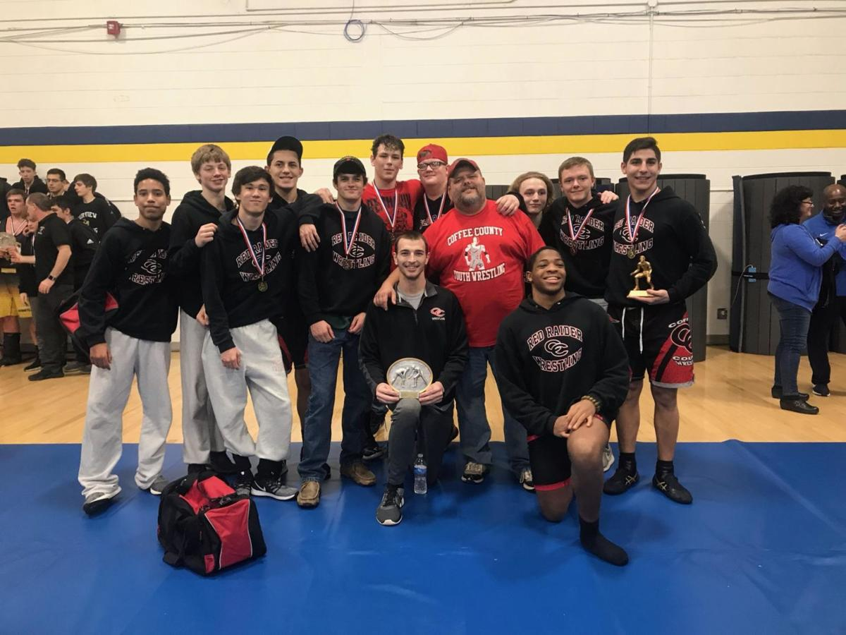 Red Raider wrestlers travel to Mountain Top Invitational