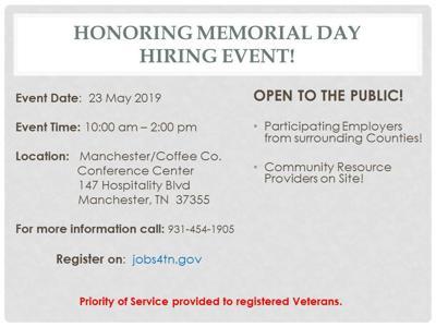 multi-county hiring event
