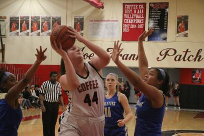 Lady Raiders roll over visiting Shelbyville