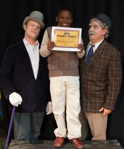 Willy Wonka and the Chocolate Factory opens next weekend