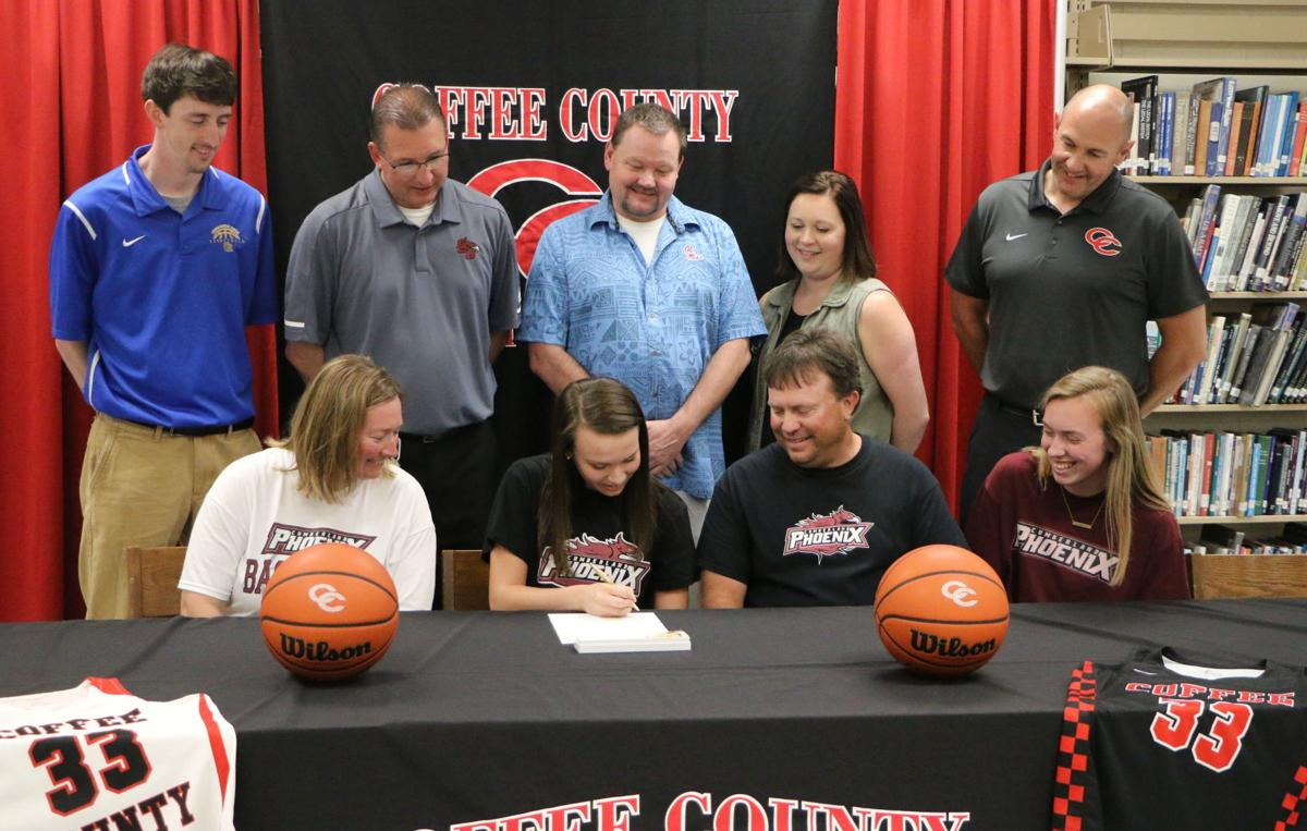 Abby Morgan signs with Cumberland