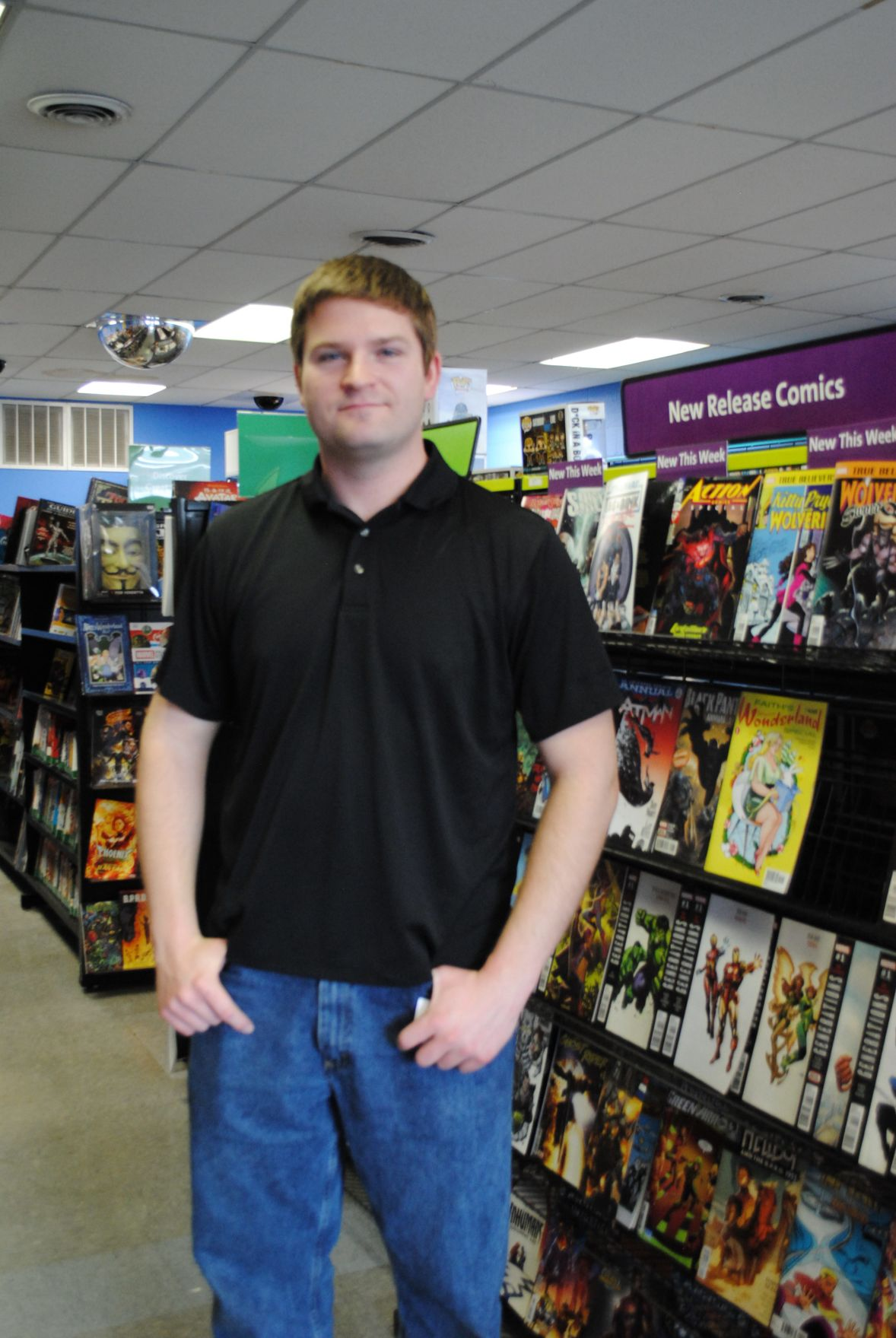 Local store participates in Free Comic Book Day