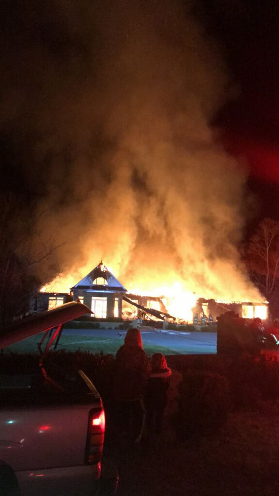 Blaze destroys $1 million house in Coffee County