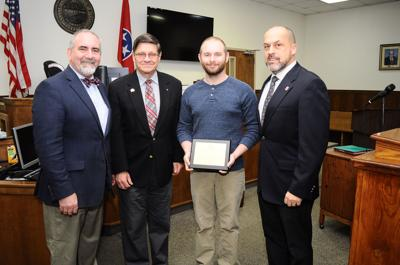 Welcome home: Veterans Court celebrates first graduate