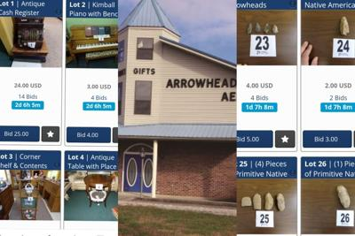 Arrowheads Museum sells items displayed at the museum