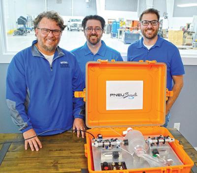 Precision Engineering manufactures ventilators