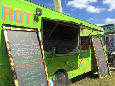 LEILA GOES TO 'ROO DAY 1: Beautiful clothes and Roti Rolls