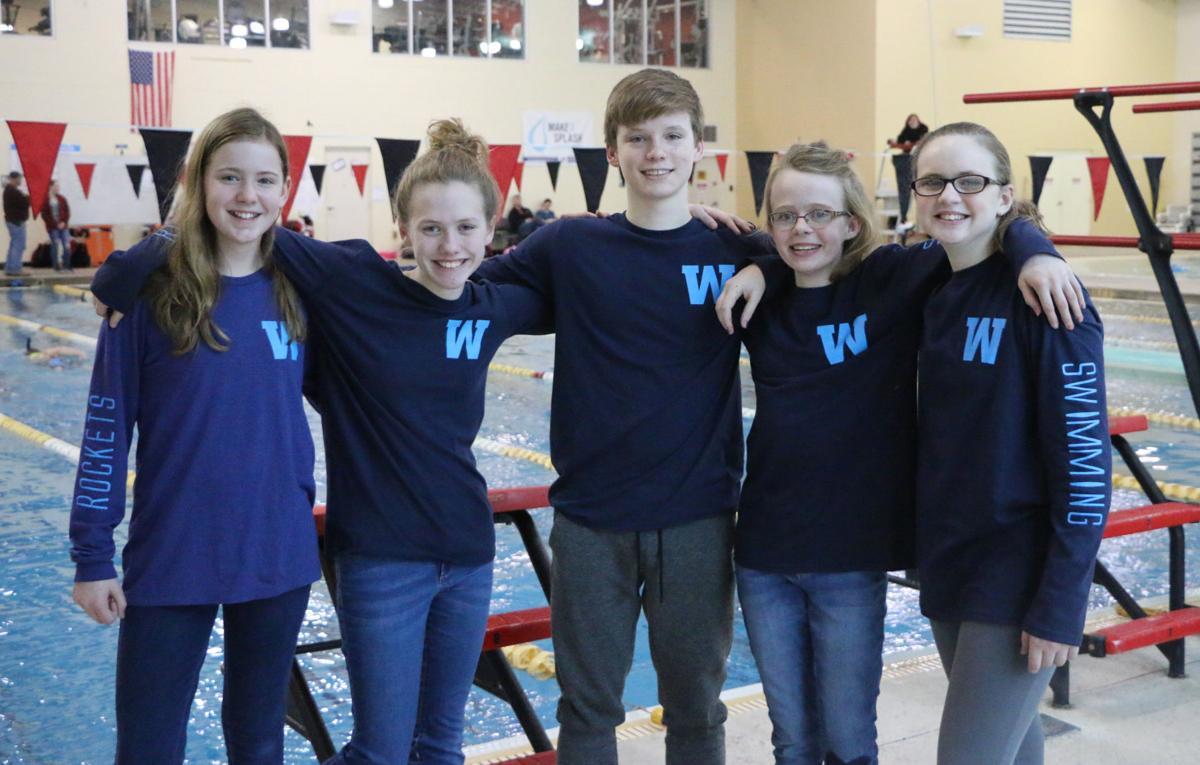 Westwood regional swimmers