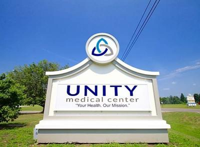 Emergency Room entrance change at Unity Medical Center on Friday, July 3