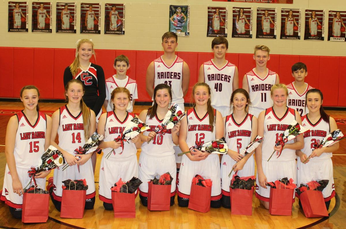 MIDDLE SCHOOL BASKETBALL: Coffee County Lady Raiders face North Franklin in make-up game; Red Raiders travel to North