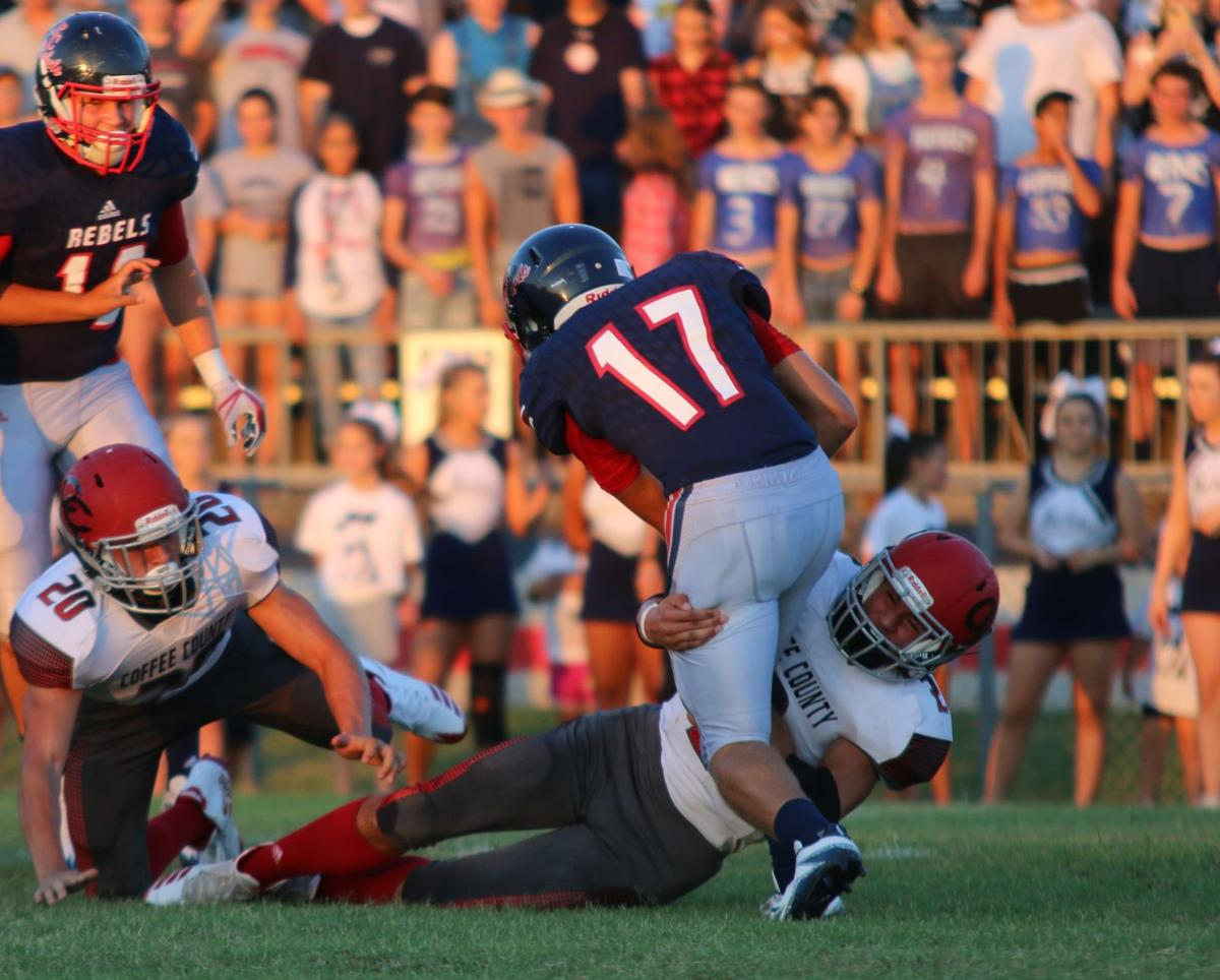 High School Football Franklin County Pounds Red Raiders 34 8