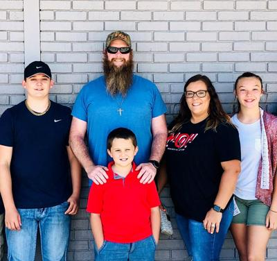 Four family members spend summer recovering from  COVID