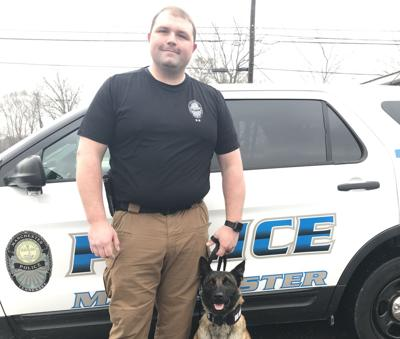 New K-9 recognized by local drug abuse facility