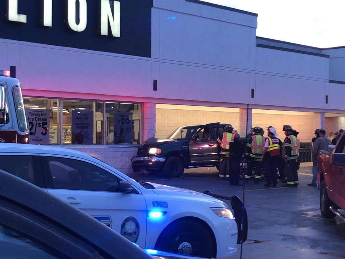 Woman transported to hospital after accident at Food Lion