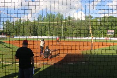 Softball tryouts held