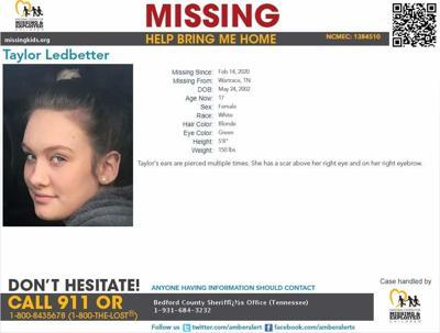 Taylor, 17, missing