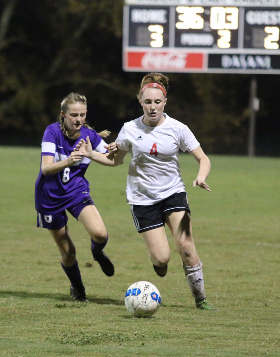 HIGH SCHOOL SOCCER: Lady Raiders drop Columbia, advance to District 8-AAA title game