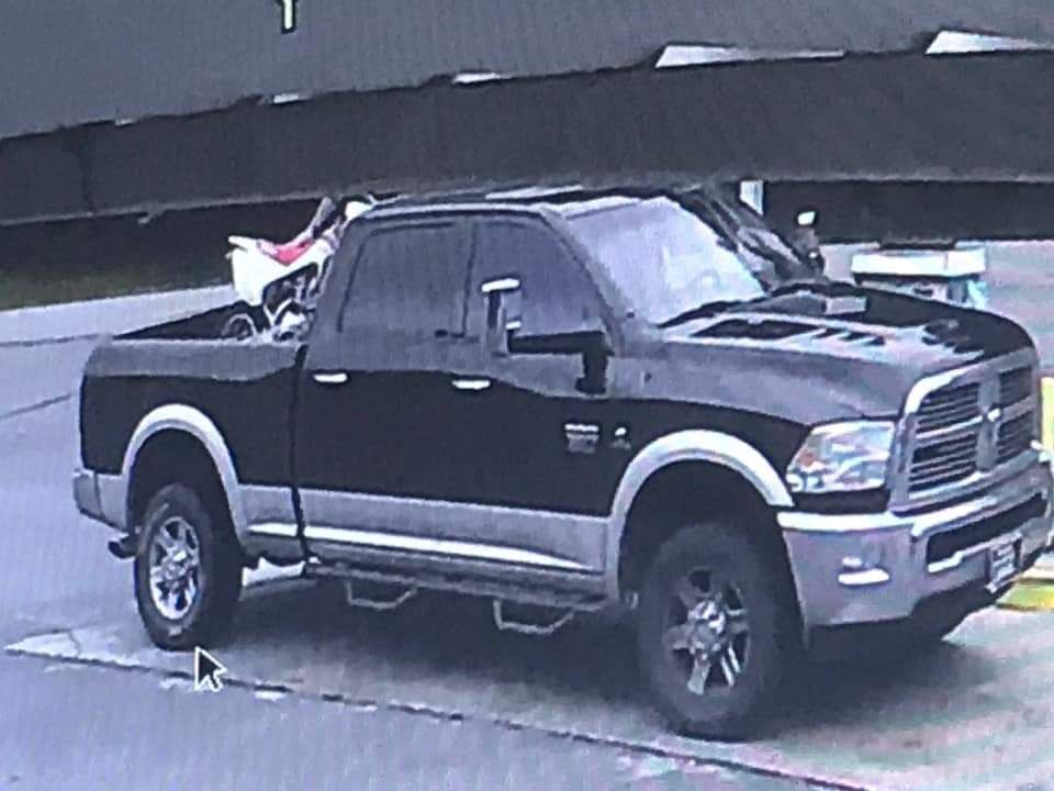 Have you seen this vehicle?