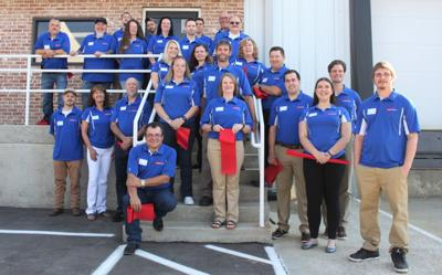 Collier Manufacturing held a grand opening ceremony