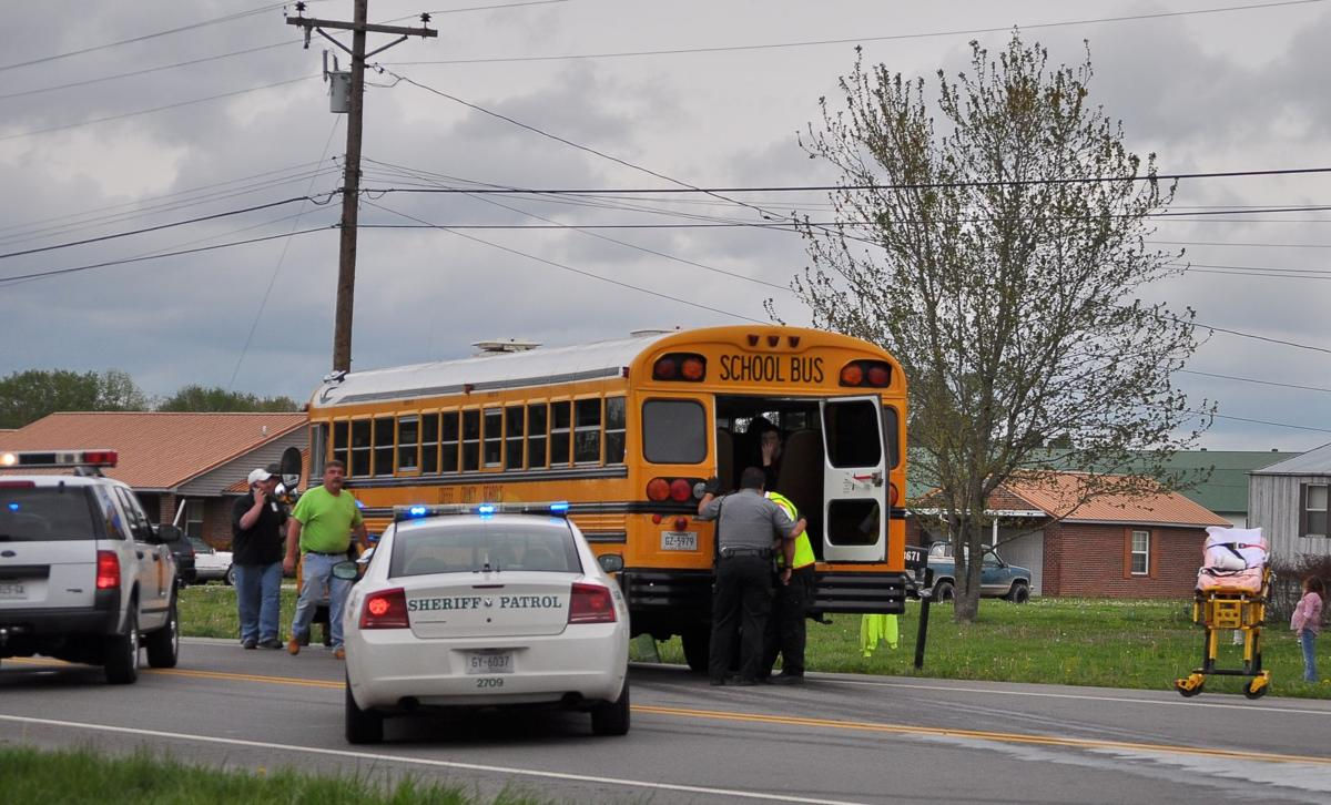 Man killed in collision with Coffee County school bus; 22 children on bus reported to be OK