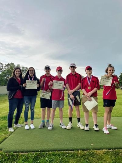 CCMS golf team recives awards