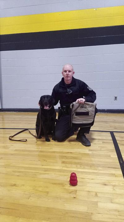 Hickerson students collect for K-9 vest