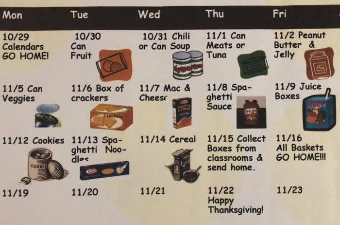 New Union food drive calendar.jpg