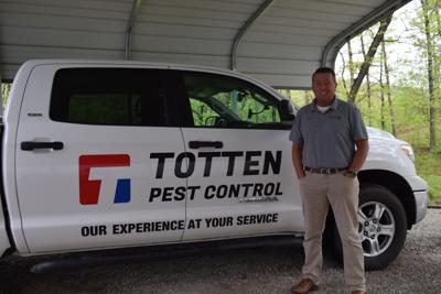 Totten's Pest Control: One man, one truck, one new local business