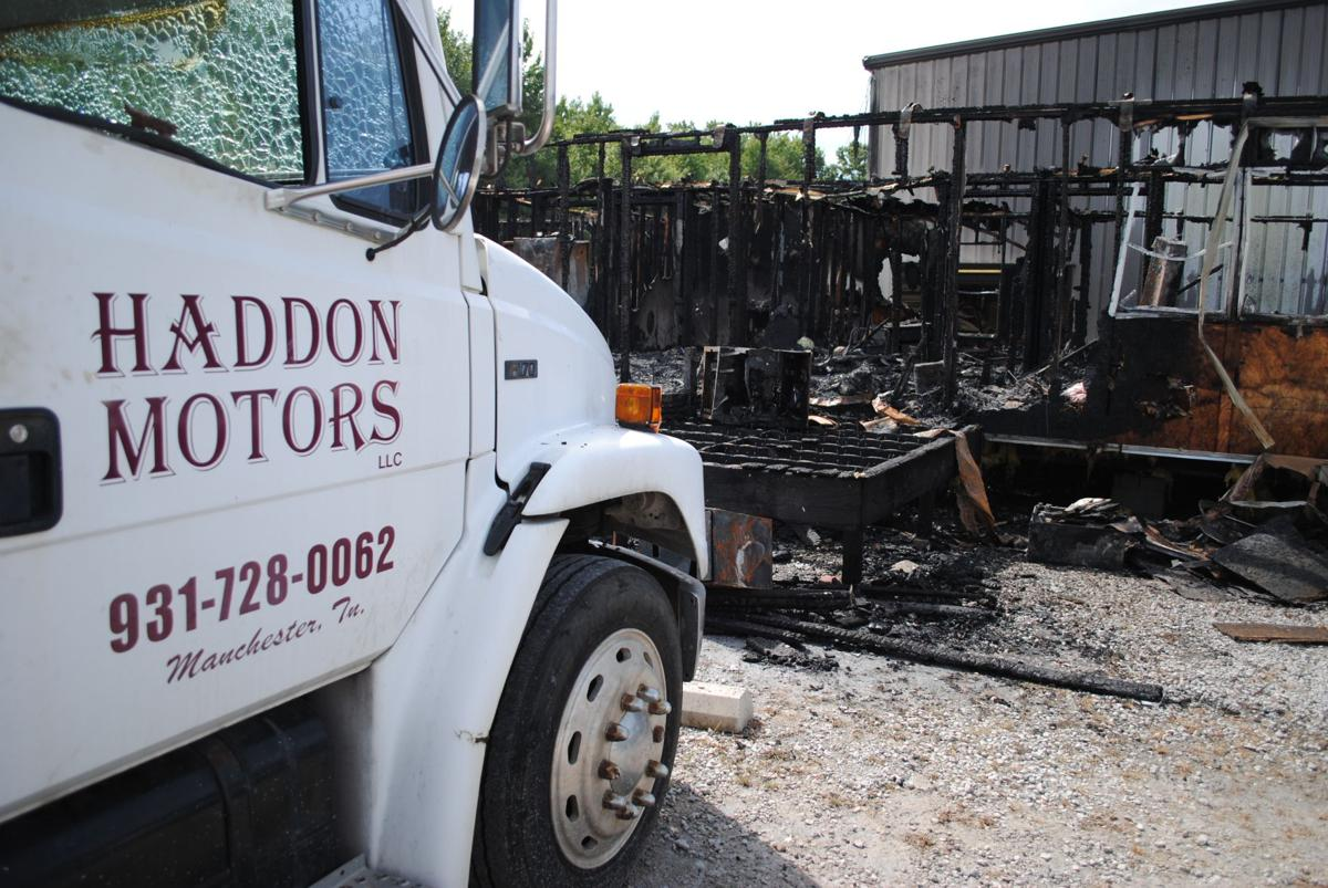 Fire marshal says fire that destroyed Manchester business was arson