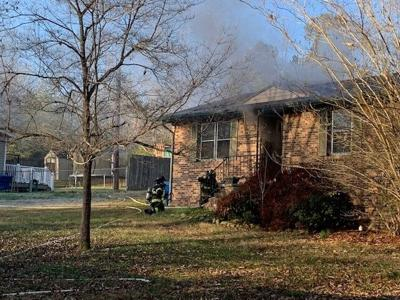 Crews respond to structure fire