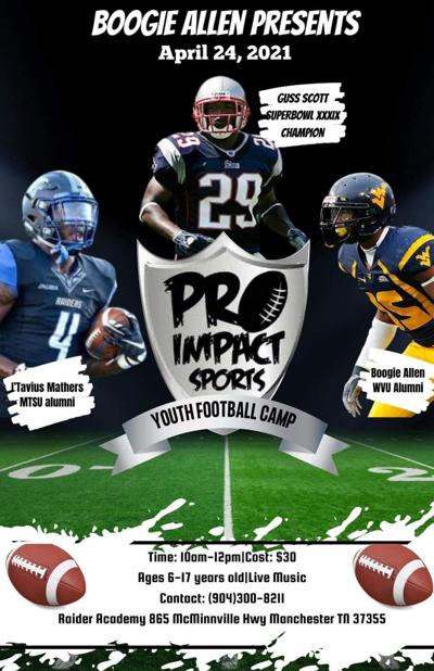 Pro Impact sports hosts youth football camp