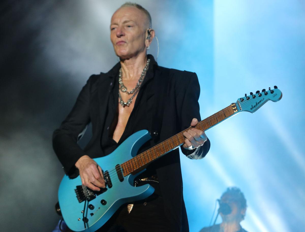 Def Leppard lead guitarist Phil Collen