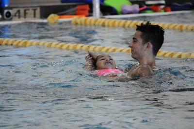 Don't get in over your head:  Rec. Department swim lessons can open a world of aquatic opportunities