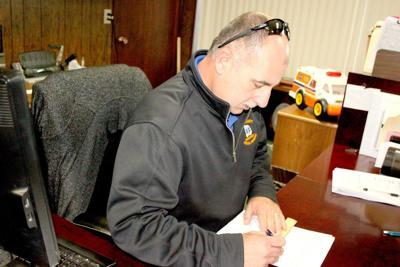 EMS Deputy Chief Paul Tibbs