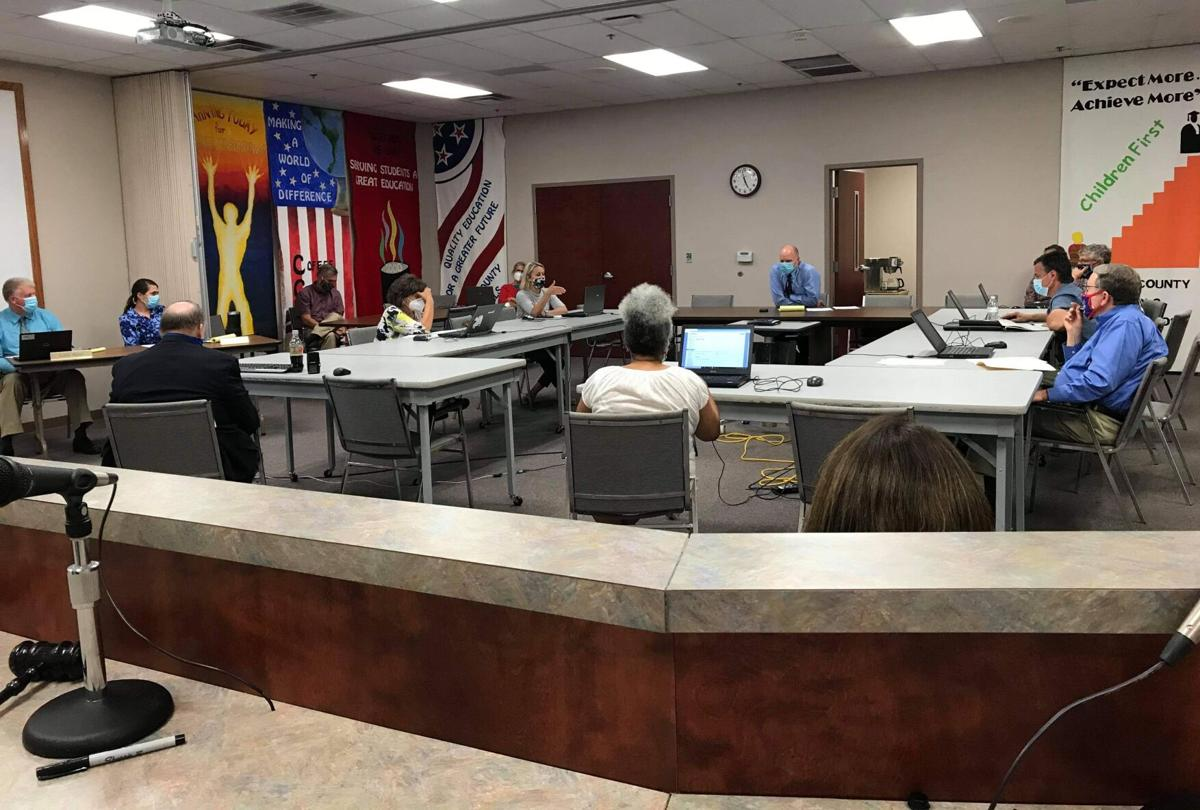 Board of education discusses mask mandate for schools