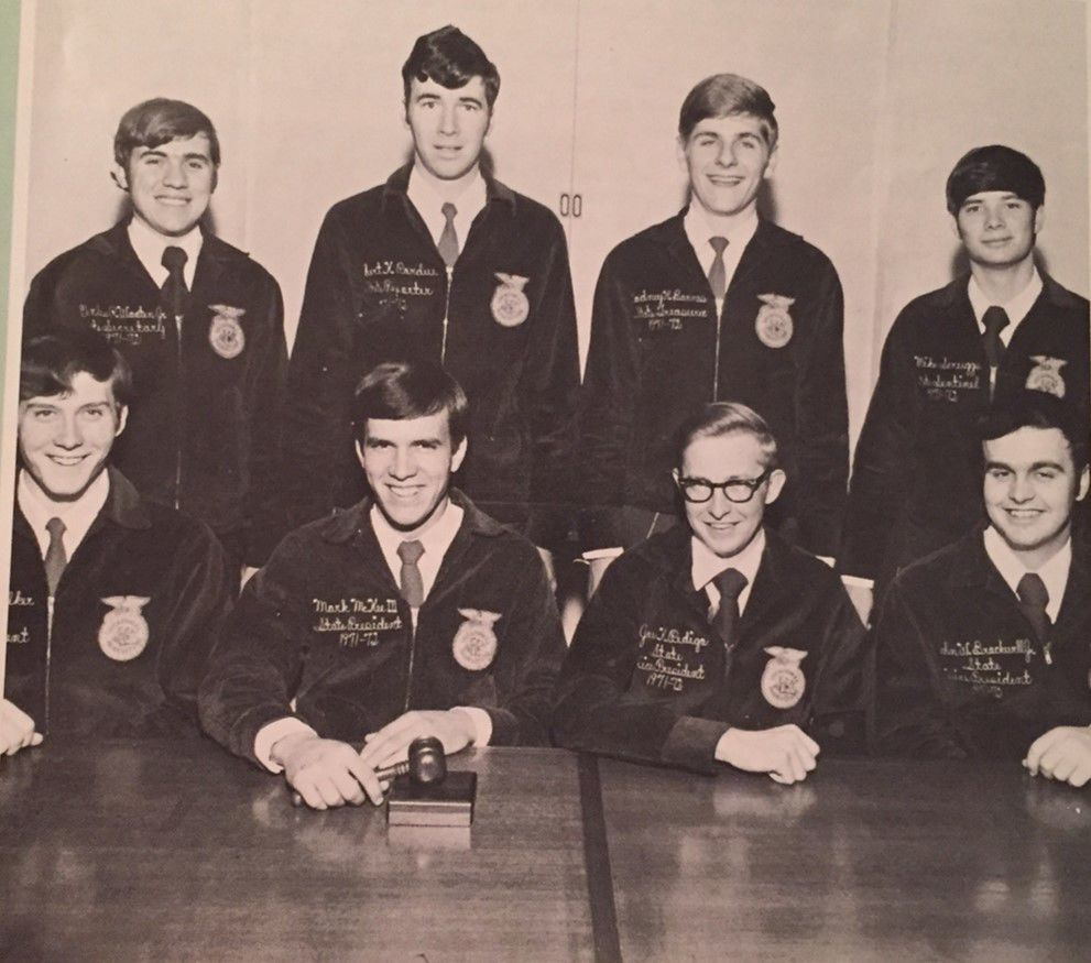 1971-71 Tenn. State Officer Team