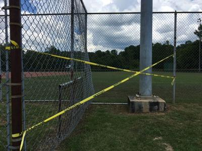 Electrocution accident at Babe Ruth field injures 11-year-old girl; the field closed until repair is completed