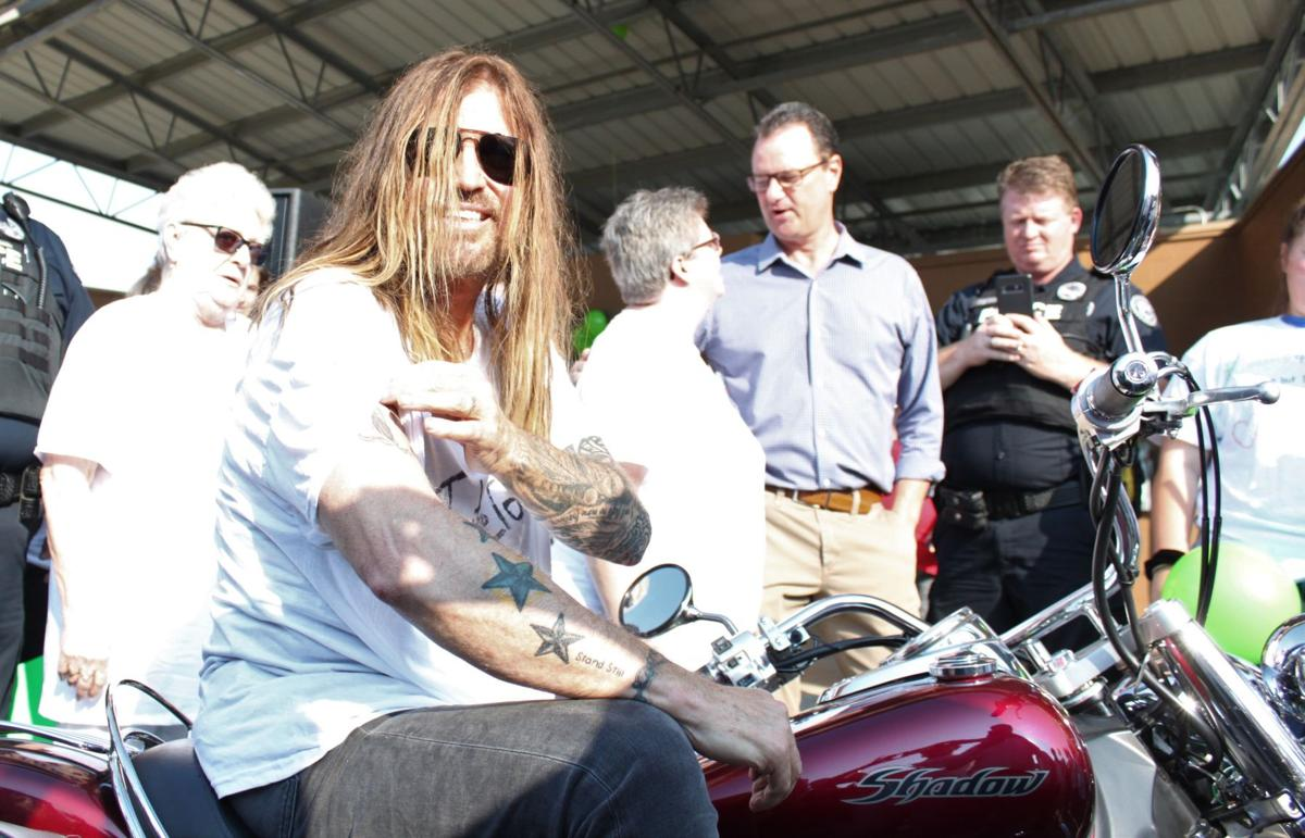 Billy Ray Cyrus Motorcycle
