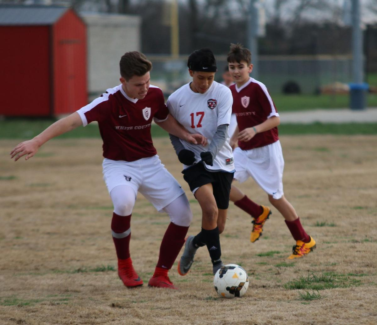 TUESDAY SPORTS ROUNDUP: Coffee Middle soccer wins debut under Ryan Wood; Westwood baseball wins season opener