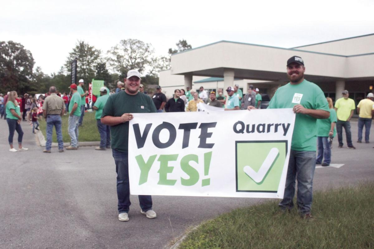 Quarry issue discussed again