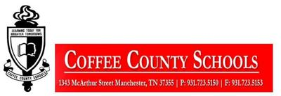 Coffee County Schools header