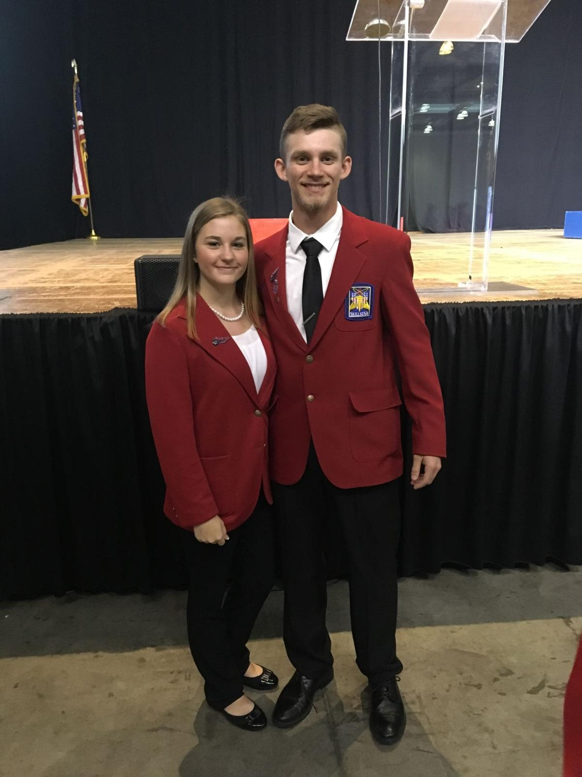 Brayden Gray and Jalen Morris SkillsUSA