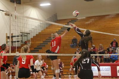 CHS volleyball sweeps Tullahoma