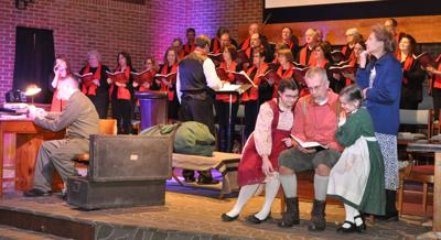 """First Baptist Church Music Ministry performs """"Christmas in His Presence"""""""